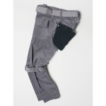 ....... RESEARCH | Bondage Pants - Charcoal.Gray