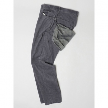 ....... RESEARCH | 5P Pants - Charcoal.Gray