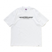 BEDWIN / ベドウィン | S/S PRINT T 「KILEY」 - White