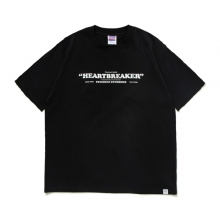 BEDWIN / ベドウィン | S/S PRINT T 「KILEY」 - Black