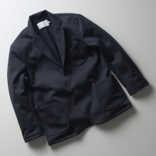 CURLY / カーリー | TRACK JACKET - Charcoal Check