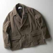 CURLY / カーリー | PRESTON W BREASTED COAT Plain