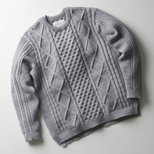 CURLY / カーリー | PROSPECT FISHERMAN SWEATER