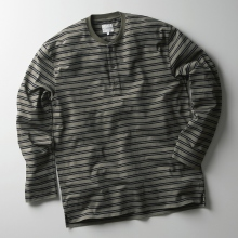 CURLY / カーリー | PROSPECT LS 3B HENLEY TEE Border