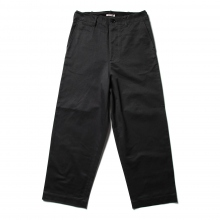 AURALEE / オーラリー | WASHED FINX CHINO WIDE PANTS - Ink Black
