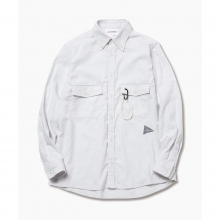 and wander / アンドワンダー | thermo nell shirt (M) - Off White