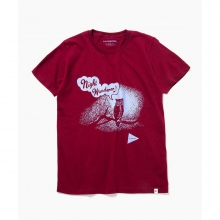 and wander / アンドワンダー | owl T - Bordeaux