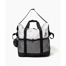and wander / アンドワンダー | X-Pac 45L tote bag - White