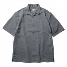 THE NORTH FACE / ザ ノース フェイス | S/S Open-Collared Knit Shirt - RG ラビットグレイ