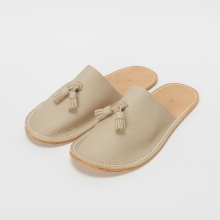 Hender Scheme / エンダースキーマ | leather slipper - Moca