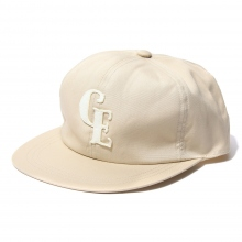 GOODENOUGH / グッドイナフ | B.B CAP - FELT PATCH - Beige