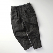 CURLY / カーリー | BLEECKER HB WD TROUSERS / Wide Tapered - Black Hb