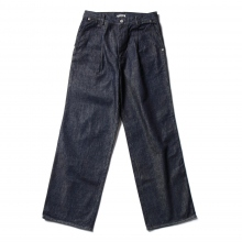 AURALEE / オーラリー | HARD TWIST DENIM WIDE SLACKS - Indigo