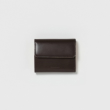 Hender Scheme / エンダースキーマ | bellows wallet - Dark Brown