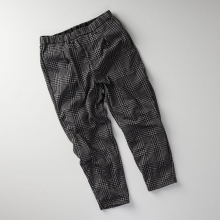 CURLY / カーリー | AZTEC CH EZ TROUSERS - Glen Check