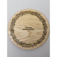 ....... RESEARCH | Anarcho Cups 018 - Wood Lid (for Bowl) / Wreath - Beige