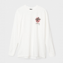 STUSSY / ステューシー | Surfman Pigment Dyed L/S Tee - Natural
