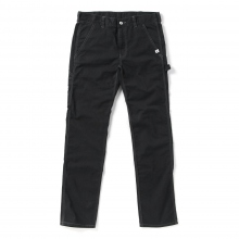 and wander / アンドワンダー | Outlast cotton garment dyed pants - Black