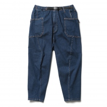 GRIP SWANY / グリップスワニー | JOG 3D WIDE CAMP PANTS - Indigo
