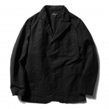 ENGINEERED GARMENTS | Bedford Jacket - Cotton Double Cloth - Black