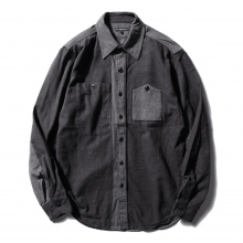 ENGINEERED GARMENTS | Work Shirt - Big HB St. - Grey