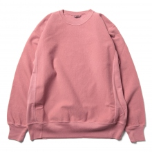 AURALEE / オーラリー | SUPER MILLED SWEAT P/O - Pink Red