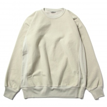 AURALEE / オーラリー | SUPER MILLED SWEAT P/O - Pale Green