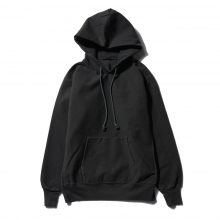 AURALEE / オーラリー | SUPER MILLED SWEAT P/O PARKA - Black