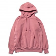 AURALEE / オーラリー | SUPER MILLED SWEAT P/O PARKA - Pink Red