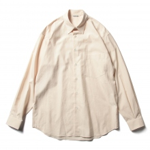 AURALEE / オーラリー | WASHED FINX TWILL SHIRTS - Light Pink