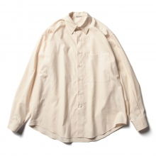 AURALEE / オーラリー | WASHED FINX TWILL BIG SHIRTS - Light Pink