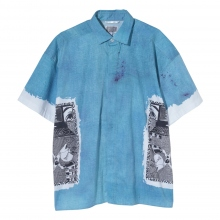 C.E / シーイー | MD SECURITY SHORT SLEEVE SHIRT - Blue