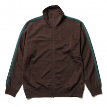 South2 West8 / サウスツーウエストエイト | Trainer Jacket - Poly Smooth - Dk.Brown