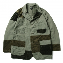 ENGINEERED GARMENTS / エンジニアドガーメンツ | Bedford Jacket - Double Cloth - Olive
