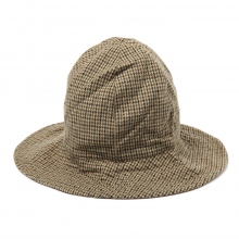 ENGINEERED GARMENTS / エンジニアドガーメンツ | Dome Hat - Gunclub Check - Tan/Grn ☆