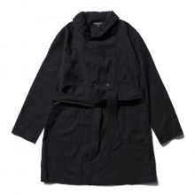ENGINEERED GARMENTS | Robe - Uniform Serge - Dk.Navy