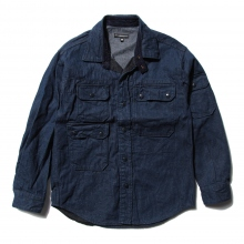 ENGINEERED GARMENTS | CPO Shirt  - 11oz Cone Denim - Indigo