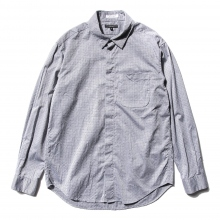 ENGINEERED GARMENTS | Short Collar Shirt - Basketweave - Grey