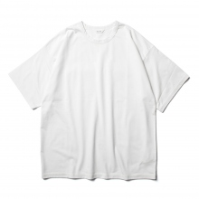 WELLDER / ウェルダー | Wide Fit T-shirt - White