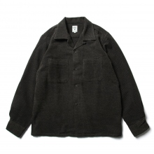 South2 West8 / サウスツーウエストエイト | One-up Shirt - C/W Mole Cloth - Olive / Plaid