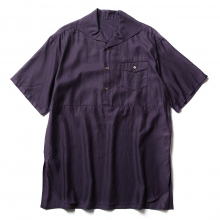 URU / ウル | COTTON CUPRA S/S SHIRTS - Purple
