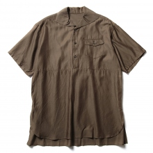 URU / ウル | COTTON CUPRA S/S SHIRTS - Khaki