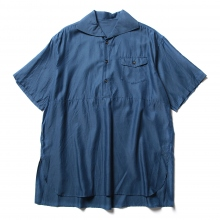 URU / ウル | COTTON CUPRA S/S SHIRTS - Blue