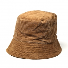 ENGINEERED GARMENTS / エンジニアドガーメンツ | Bucket Hat - 8W Corduroy - Chestnut ☆
