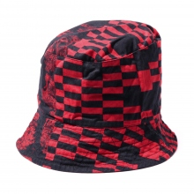 ENGINEERED GARMENTS / エンジニアドガーメンツ | Bucket Hat - Noma t.d. Print - Red / Black ☆