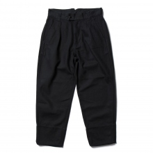 URU / ウル | COTTON HEAVY DRILL / 1 TUCK PANTS - Navy