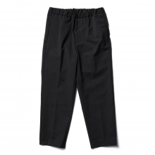 URU / ウル | POLYESTER KERSEY / EASY PANTS - Navy