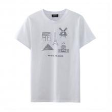 A.P.C. / アーペーセー | Paris Tシャツ - White