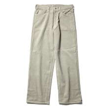 AURALEE / オーラリー | WASHED CORDUROY 5P PANTS - Light Green