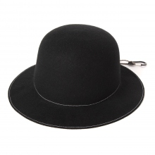and wander / アンドワンダー | wool felt hat - Black